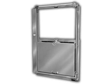 Mark IV™ Vertical Sliding Package Passing Door